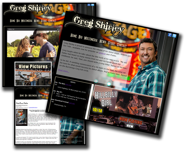 Greg Shirley Website