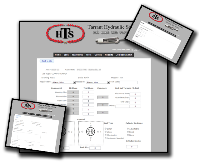 THS Jobbook Web Portal Website